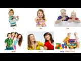 Местоимения. Изучаем русский язык. Части речи. Развивающие карточки для детей