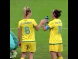 Olympics Rio 2016 womens soccer Brazil vs Australia Fail - 13 august quarter final de vanna