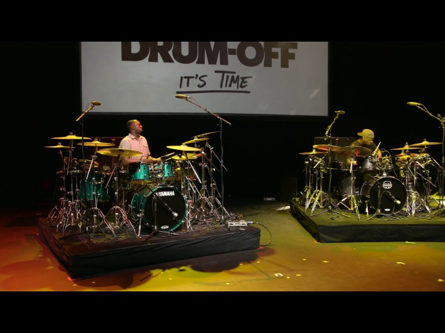 Larnell Lewis Rashid Williams - Guitar Center's 28th Annual Drum-Off (Part 5)