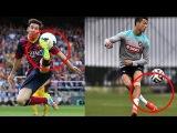 МЕССИ против РОНАЛДУ или КТО ЛУЧШЕ в футболе ЛЕВШИ vs ПРАВШИ