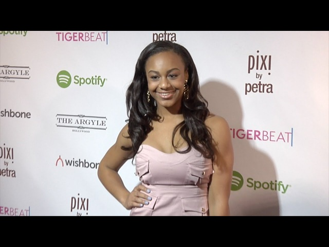 Nia Sioux Frazier | TigerBeat Launch Event Pink Carpet DanceMoms