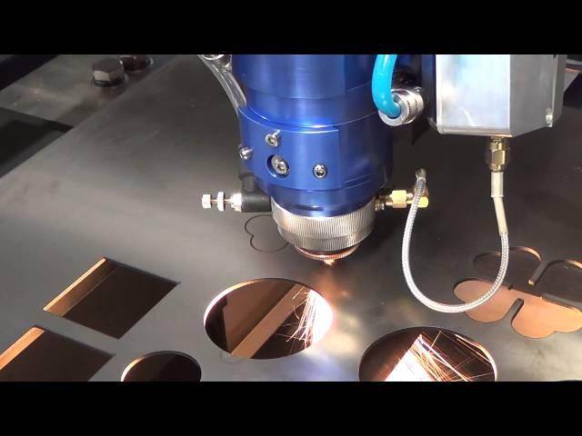 260w CO2 Laser cut 1 8mm stainless steel bodor