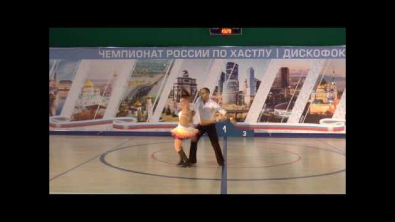 10.12.2016 ЧР-1 Final Abs Fast 1 место №252 Евгений Арутюнян - Екатерина Николаева