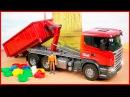 Мультфильмы про машинки - Грузовик | Строительные машинки | Развивающие мультики для детей