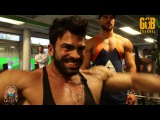 Sergi Constance - Shoulders workout with Denis Gusev - Germany 2016