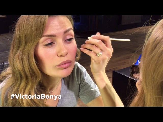 Как сделать свежий макияж за 5 минут от Виктории Боня. Victoria Bonya.