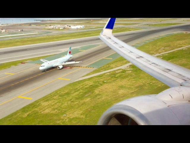 **REJECTED TAKEOFF** @ SFO - United Airlines Boeing 737-824 [N37287]