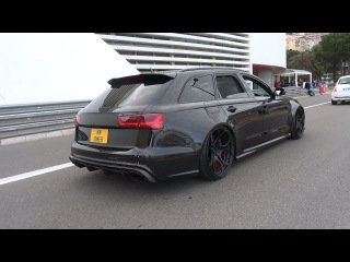 740HP Audi RS6 C7 - Brutal Milltek Exhaust INSANE REVS!