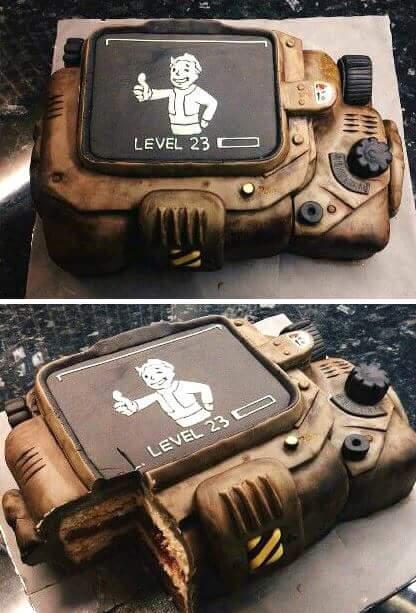 Тортик Fallout