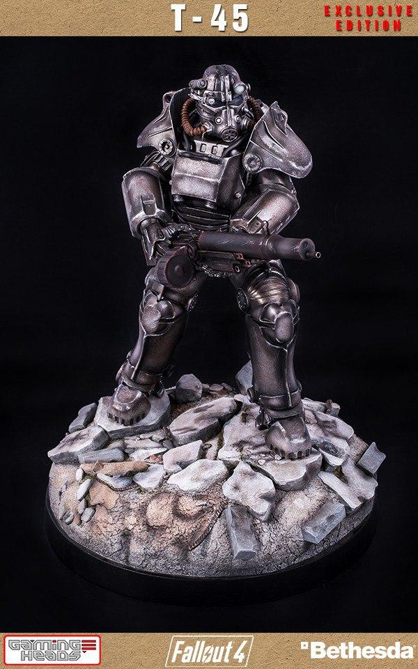 Фигурка брони Т-45 из Fallout4 всего за $600