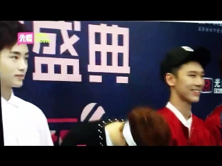 160409 NCT U Red Carpet Fancam @ Chinese Top Music