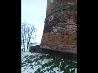 24.11.2016. Смотровая площадка от Северной башни Нижегородского Кремля.