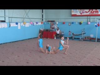 Соревнования по спортивной акробатике. Третий взрослый разряд. Мой дебют как постановщика.