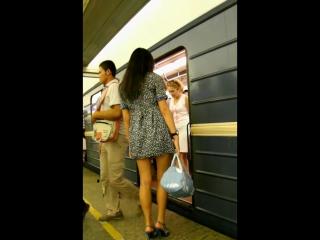 вуайеризм в метро
