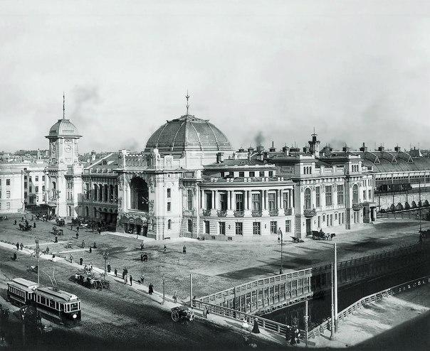 Витебский вокзал В Санкт-Петербурге. 1900-е гг.