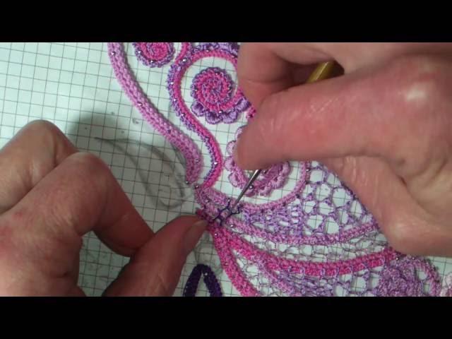 сеточка из вышивальных ниток