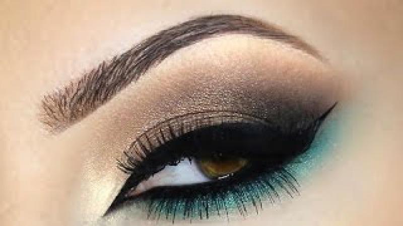 ♡ Smokey Eye Marrom e Verde | Melissa Samways ♡