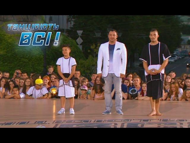 Михай Унгуряну проти Влада Литвиненко Батл Софиевская площадь Танцуют все Сезон 9 Выпуск 15