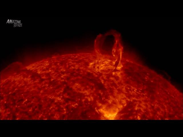 Солнце крупным планом¦ HD видео солнечной активности в течении месяца.