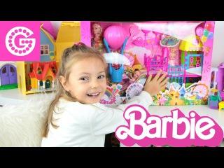 Мультики с куклами Сериал Мама Барби Челси Детская площадка дочка Барби игры дл ...