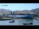 Maersk - Triple-E: Semi-launch timelapse
