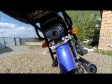 Ремонт Мопеда Alpha 110 / При нажатии на тормоз горит габарит .