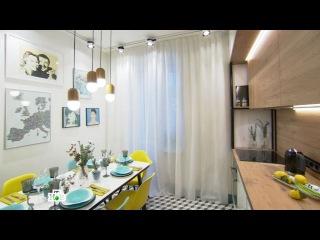 Оптические иллюзии в кухне и ее грандиозное превращение в выставку произведений искусства