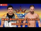 WWE WrestleMania Axxess TJ Perkins vs. Drew Gulak Predictions