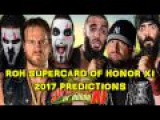 ROH Supercard of Honor XI The Guerrillas of Destiny &amp Hangman Page vs Bully Ray &amp The Briscoes