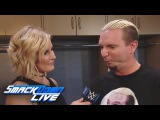 A very nervous James Ellsworth prepares for his WWE World Title Match SmackDown LIVE, Oct. 18, 2016