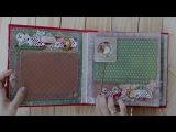 Скрапбукинг Альбом  Новогодний фотоальбом Merry Christmas