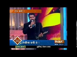 SBAS ITA Awards 2016 Shabir Ahluwalia Receiving Best Actor Popular Award