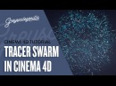 Cinema 4D Tutorial - Tracer Swarm Effect