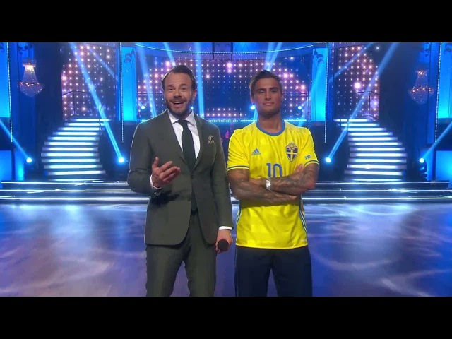 Samir Badran i Zlatan-test - Let's Dance (TV4)