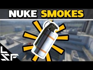MUST KNOW NUKE SMOKES - CS:GO Smoke Tutorial (2016)