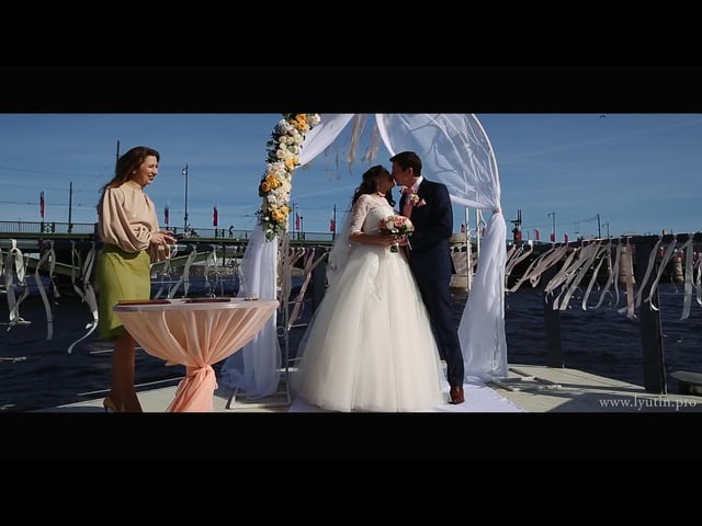 Денис и Юлия свадебный клип