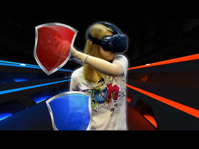 AudioShield - HTC Vive   Обзор игры в Virtuality Club