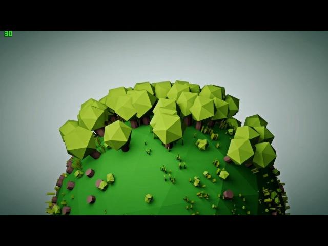 Медитативный и красивый ролик о том, как расходует лес