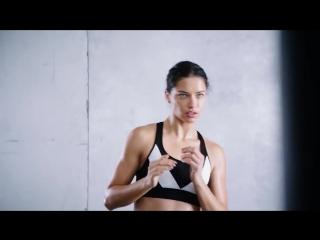 The Victoria's Secret Angels Hit the Gym