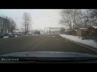 Очередная ТП за рулем ВАЗ2109 М677ТТ152рус