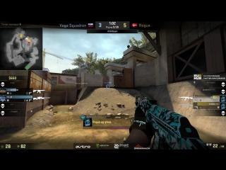 jR clutch AWP + Pistol (Vega Squadron vs Rogue; DreamHack Leipzig)