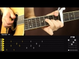 Как играть PASSENGER - LET HER GO на гитаре _ Разбор, обучающий видеоурок