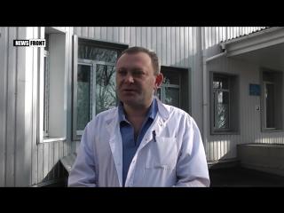 Донецк- гулявшая с ребенком девушка попала под обстрел со стороны ВСУ