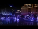 Танцующие фонтаны Белладжио в Лас-Вегасе. Автор ролика Александр Трущин.