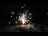 Праздничный фейерверк 1.01.17г. Минеральные Воды
