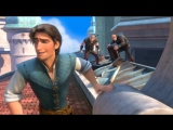 Tangled - Flynn steals the crown