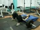 Подъем таза лежа со штангой 130 кг. Настя Зуева. 17 лет, студентка СГАФКСТ. Вес 52 кг. КМС по пауэрлифтингу. Тренировка 27.09.20