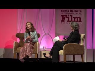 SBIFF 2017 - Isabelle Huppert Discusses 8 Women | Изабель Юппер