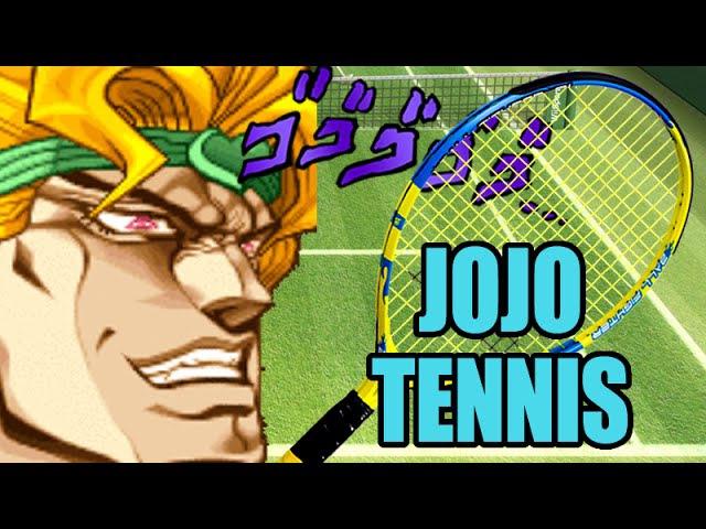 JoJo Wii Tennis