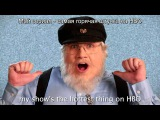J. R. R. Tolkien vs George R. R. Martin. Epic Rap Battles of History. Season 5. rus sub